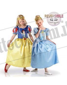Costume reversibile Principesse BIANCANEVE e CENERENTOLA