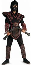 Costume RED SKULL WARRIOR NINJA bambino