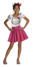Costume HELLO KITTY rosa