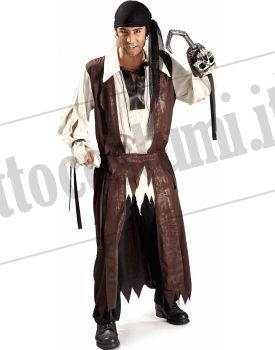 Costume CORSARO DEI CARAIBI  adulto
