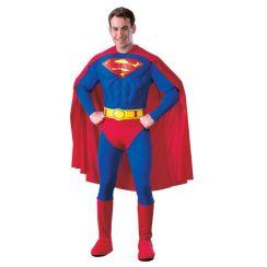 Costume SUPERMAN™ lusso con muscoli