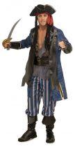 Costume CAPITAN PIRATA uomo
