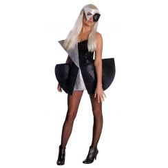 Costume LADY GAGA Black Sequin