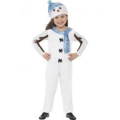 Costume PUPAZZO DI NEVE unisex bambino