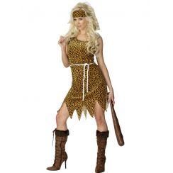 Costume da donna dell'età della pietra