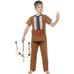Costume Piccolo INDIANO della TRIBU