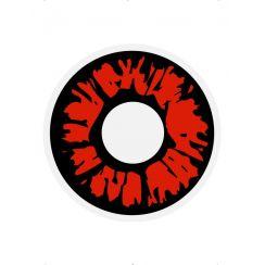 Lenti colorate EXPLOSION RED giornaliere