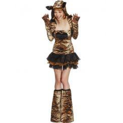 Costume TIGRE GLAMOUR donna