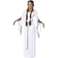 Costume DAMA MEDIEVALE BIANCA