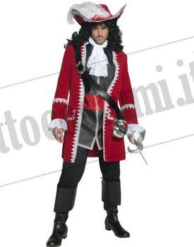 Costume CAPITANO PIRATA lusso
