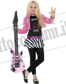 Costume ROCKSTAR Glam bambina