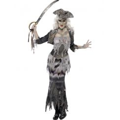 Costume PIRATESSA FANTASMA SHIP GHOULINA