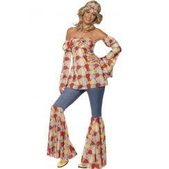 Costume VINTAGE HIPPY '1970 donna
