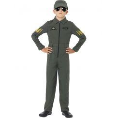 Costume pilota bambino