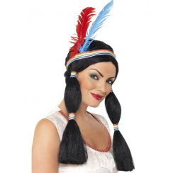 Parrucca da Principessa Indiana