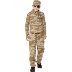Costume DESERT ARMY bambino