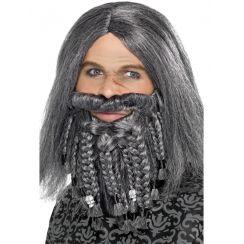 Parrucca e barba PIRATA TERRORE DEI MARI