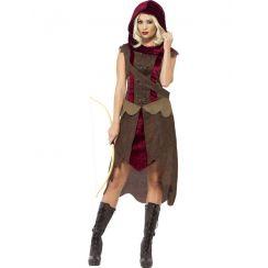 Costume CACCIATRICE DELLE FORESTE