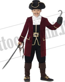 Costume da Capitano dei pirati bambino