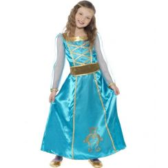 Costume Medieval Maid bambina