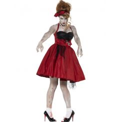Costume ROCKABILLY ZOMBIE ANNI 50