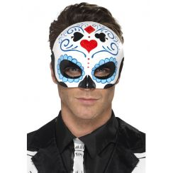 Mezza maschera DAY OF THE DEAD