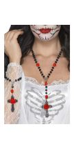 Set collana e braccialetto DAY OF THE DEAD
