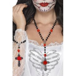 Set collana e braccialetto DAY OF THE DEAD