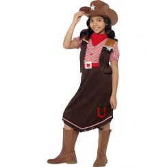 Costume COWGIRL gonna lunga