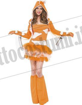 Costume PESCE CLOWN GLAMOUR