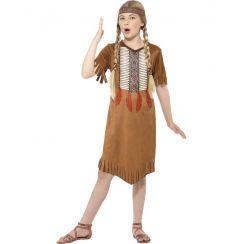 Costume NATIVA AMERICANA bambina