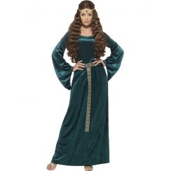 Costume INCANTEVOLE DAMA medievale