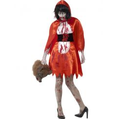 Costume ZOMBIE LITTLE MISS HOOD