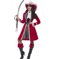Costume CAPITANO del VASCELLO lusso donna