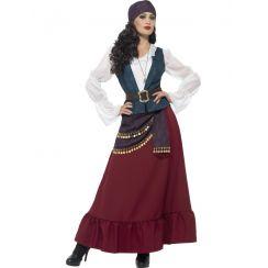 Costume LADY BUCANIERE deluxe