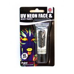 UV FACE e BODY PAINT bianco Blister Pack