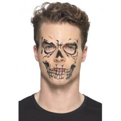 Temporary Tattoo SKULL FACE