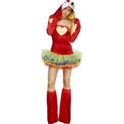 Costume SEXY PAPPAGALLO