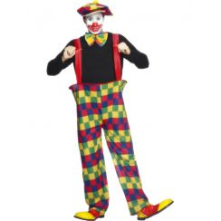 Costume CLOWN MAXI PANTALONI