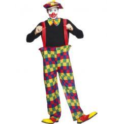 Costume CLOWN MAXI PANTALONI