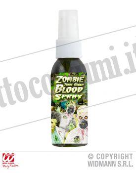 Spray sangue ZOMBIE VERDE TOSSICO 48 ML