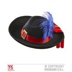 Cappello moschettiere adulto