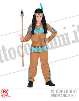 Costume RAGAZZO INDIANO