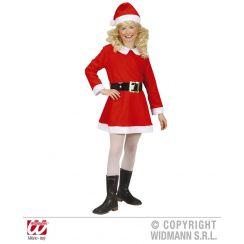 Costume Babbo Natale bambina SANTA GIRL