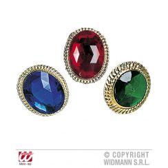 Maxi anello con gemma