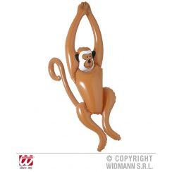 Scimmia dondolante gonfiabile 90 cm