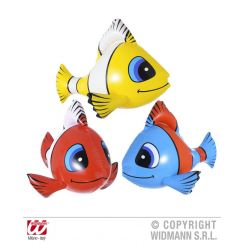 Pesce TROPICALE GONFIABILE 60 cm