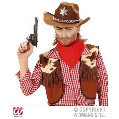 Cappello SCERIFFO marrone bambino