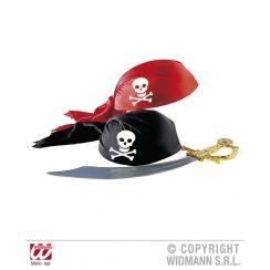 Cappello da pirata in tessuto