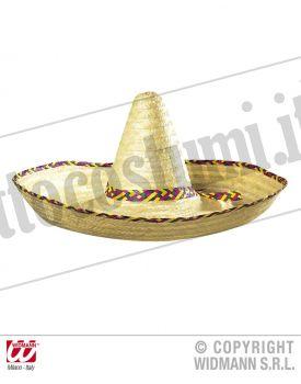 Sombrero maxi con decorazioni 65 cm